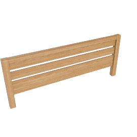 Montana Double Headboard, Oak