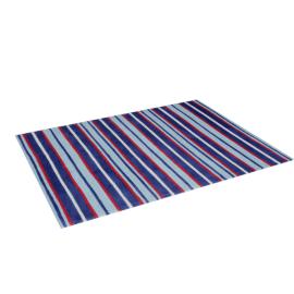 Luke Striped Rug - 120x160 cms, Blue
