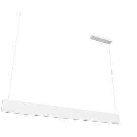 Lirio Piega Luce pendant, white
