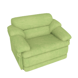 Cuddler Armchair, Green