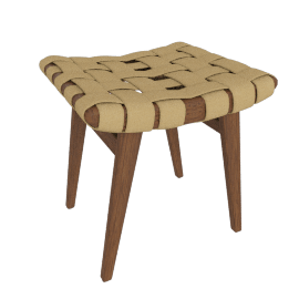 Risom Stool - Walnut