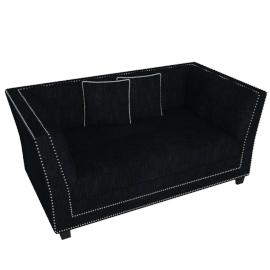 Odessa 2 Seater, Black