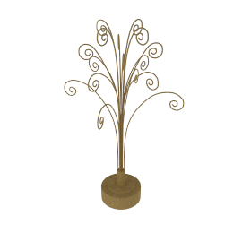 Gold Revolving Tree