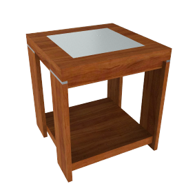 Strata Lamp Table, Cherrywood
