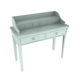 Louisa Dressing Table, Celadon