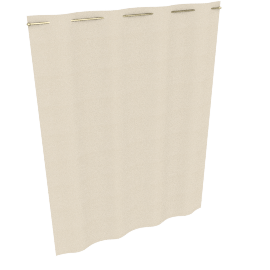 Blackout Curtain Linings, Ivory, W162 x Drop 220cm