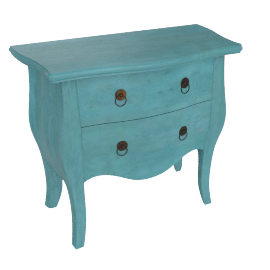 Bourbon Commode, Azur