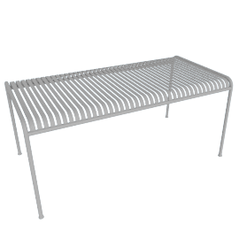 Palissade Dining Table, Sky Grey