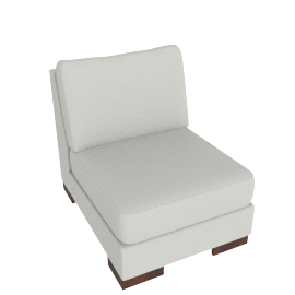 Signature 1 Seater Armless, Dove