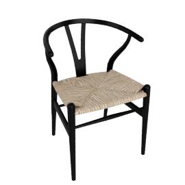 Wishbone Chair - Lacquer - Black