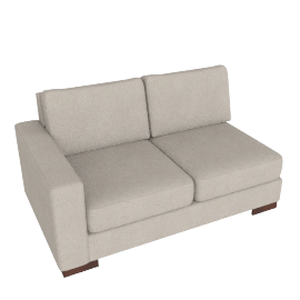 Signature 2 Seater With Left Arm, Sand