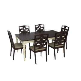 Venezia 6-seater Dining Set