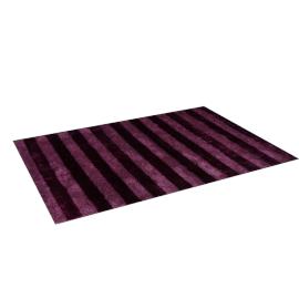 Zulu Stripes Rug 160X230Cm-Aubergine