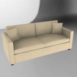 Ravel Grand Sofa, Beige