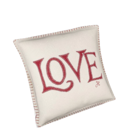 Jan Constantine Love Small Cushion, 35x26cm