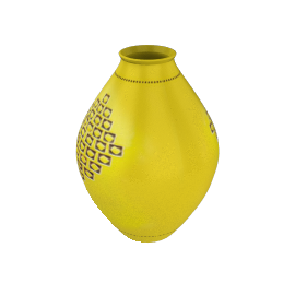 Bitossi 215 Vase - Yellow