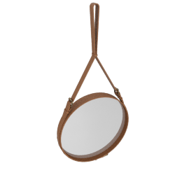 Adnet Mirror, Medium - Brown