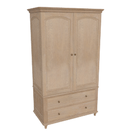 Etienne Double Wardrobe, Oak