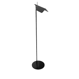 Tab Floor Lamp, Black