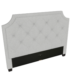Stellar Neo Queen Headboard, Grey