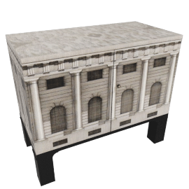Architecture Small Chest by fornasetti