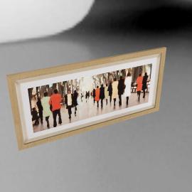 Lorraine Christie - Springtime Poets Walk Framed Print, 51 x 108.5cm
