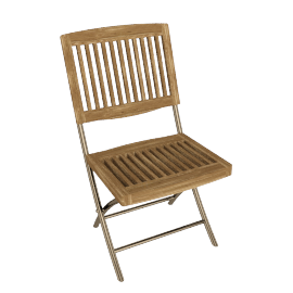 Fiji Folding Garden Side Chair