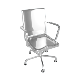 Hudson Task Chair - Polished
