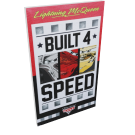 Disney Cars Poster Wall Canvas - 30x50 cms