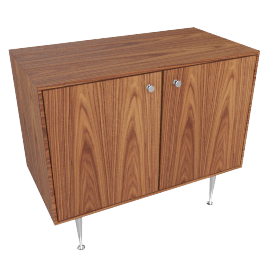 Nelson Thing Edge Cabinet, palisander