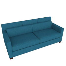 Vesper Queen Sleeper Sofa, Linen Weave - Fin