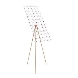 Space Frame Floor Lamp, Copper