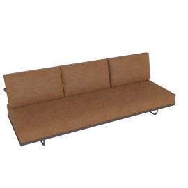 LC5.F Three-Seat Sofa