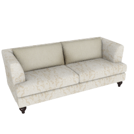 Natura 3 Seater Light Beige