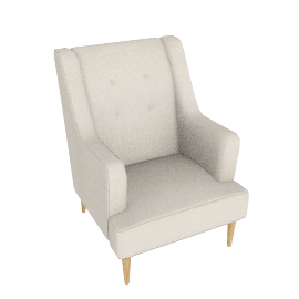 Blair Chair, Teramo Natural