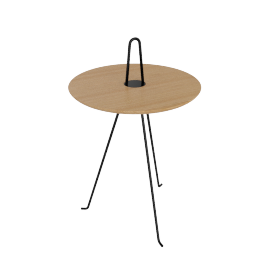 Tipi Low Table, Oak