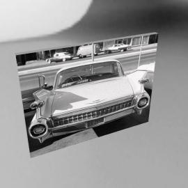 Cadillac 1961, 80x60cm, by Noshir Anklesaria