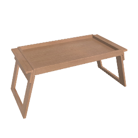 Folding Oak Serving Tray