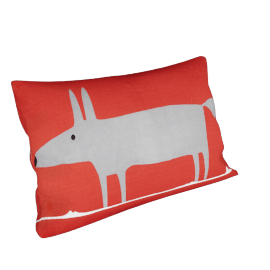 Scion Mr Fox Cushion, Red