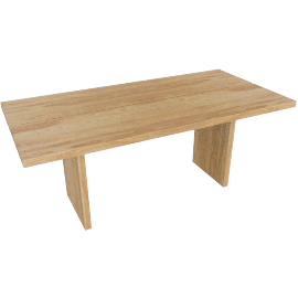 Gather Table 73'', Oak