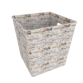 Recycled Newspaper Basket, Small