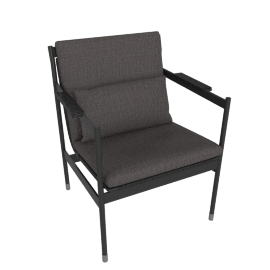 Sommer Armchair, Black