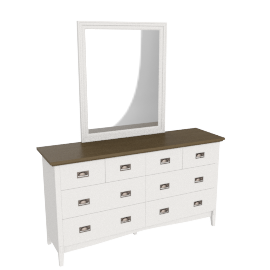 Louis Dresser with Mirror