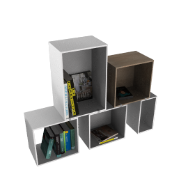 Stacked Shelf System