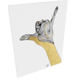 Sign Language V by KelliEllis - 30''x40'', Gallery wrap