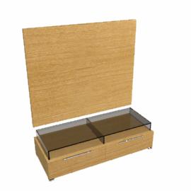 Neo Media Storage Furniture, Combination 3