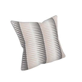 Ubud cushion, pink and grey