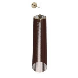 Solis Lamp, Medium - Brown