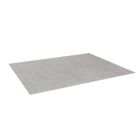 Natura Rug 8x10, Light Grey