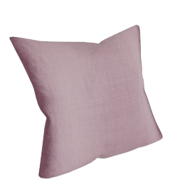 Silk Cushion, Foxglove